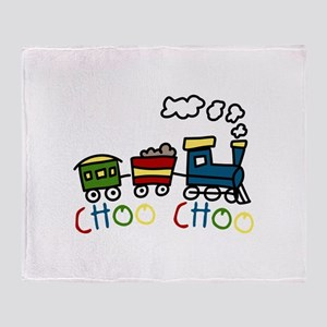 Choo Choo Throw Blanket